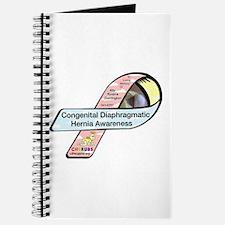 Ally Dorrington CDH Awareness Ribbon Journal