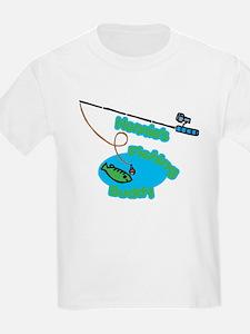 Nonnie's Fishing Buddy T-Shirt