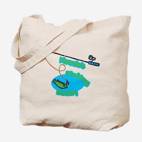 Nonnie's Fishing Buddy Tote Bag