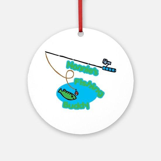 Nonnie's Fishing Buddy Ornament (Round)