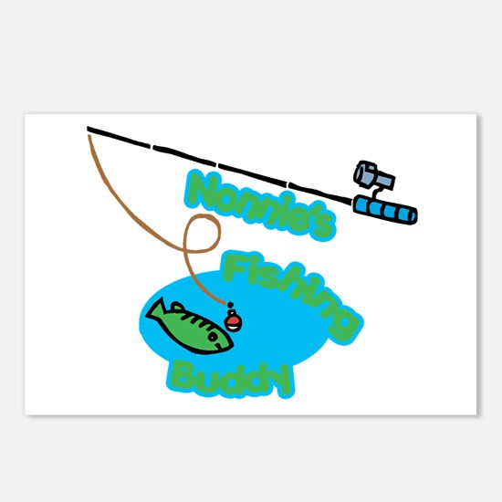 Nonnie's Fishing Buddy Postcards (Package of 8)