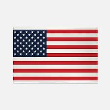 American Flag Stuff Rectangle Magnet