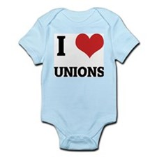 I Love Unions Infant Creeper