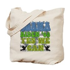 Obama Retro Yes We Can Tote Bag