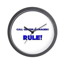 Call Center Managers Rule! Wall Clock