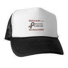 CDC Educate before you vaccin Trucker Hat