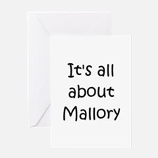 Cool Mallory Greeting Card