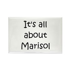 Funny Marisol Rectangle Magnet