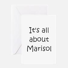 Cute Marisol Greeting Card