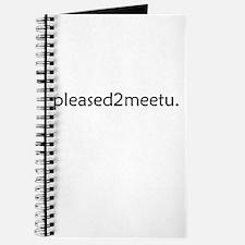 Cute Meet and greet Journal