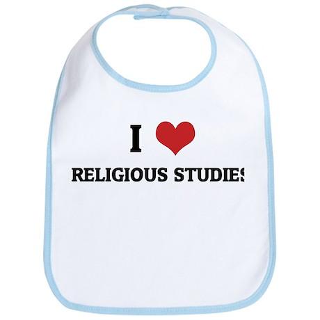 I Love Religious Studies Bib