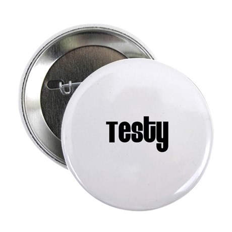 """Testy 2.25"""" Button (100 pack)"""