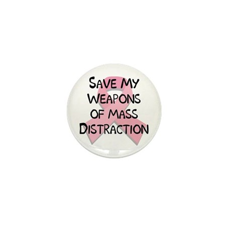 Breast Cancer Awareness Mini Button (10 pack)