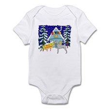 Santas Place Weimaraner Infant Bodysuit