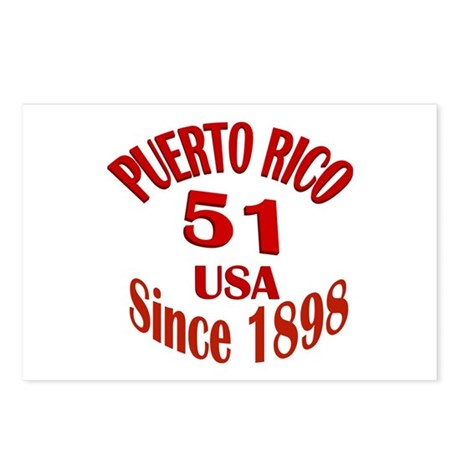 Puerto Rican Crest Postcards (Package of 8)