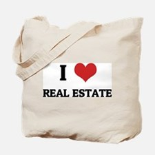 I Love Real Estate Tote Bag
