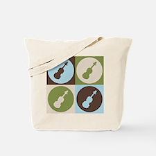 Violin Pop Art Tote Bag