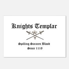 Knights Templar Spilling Sara Postcards (Package o