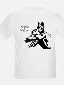 Malinois Silhouette Kids T-Shirt