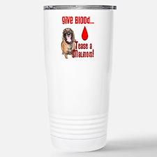Give Blood, Tease a Mal Travel Mug