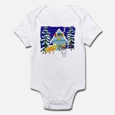 Santas Place Sheltie Infant Bodysuit