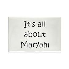 Maryam Rectangle Magnet