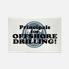 Principals For Offshore Drilling Rectangle Magnet