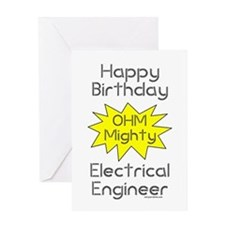 Electrical Engineer Birthday Greeting Card