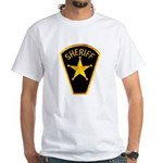 Sheriff White T-Shirt