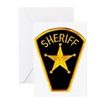 Sheriff Greeting Cards (Pk of 20)