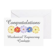 Mechanical Engineer Grad (Blank) Greeting Card