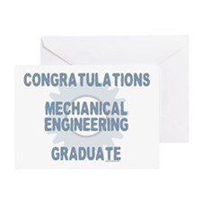 Mechanical Engineer Grad (Blank) Greeting Card