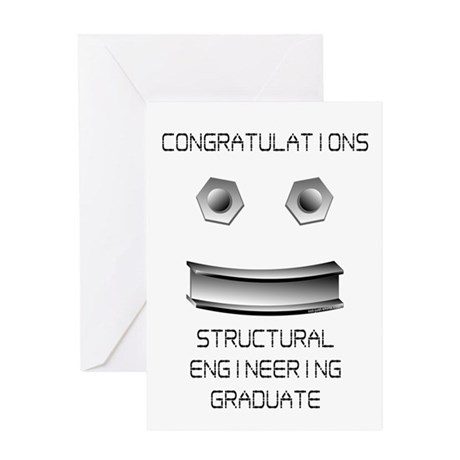 Structural Engineer Graduate Greeting Card