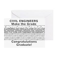 Civil Engineer Graduation Greeting Card