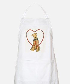 Love Your Airedale BBQ Apron