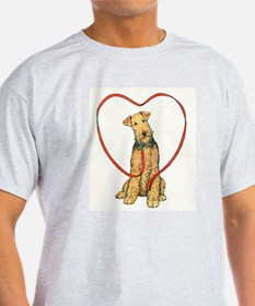 Love Your Airedale T-Shirt