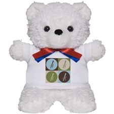 Viola Pop Art Teddy Bear