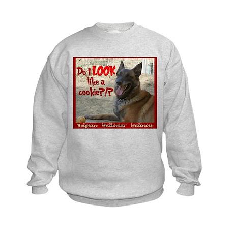 Malinois Mallomar Cookie Kids Sweatshirt