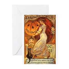 Pumpkin Head Greeting Cards (Pk of 20)