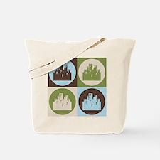Urban Planning Pop Art Tote Bag