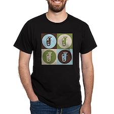 Tuba Pop Art T-Shirt