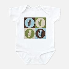 Tuba Pop Art Infant Bodysuit