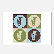 Tuba Pop Art Postcards (Package of 8)