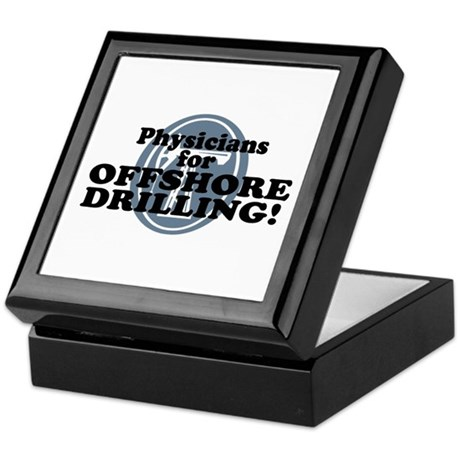 Physicians For Offshore Drilling Keepsake Box