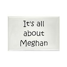Funny Meghan Rectangle Magnet
