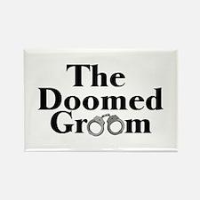 The Doomed Groom Rectangle Magnet