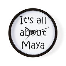 Unique Maya Wall Clock