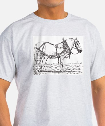 Pulling Pony in Harness T-Shirt