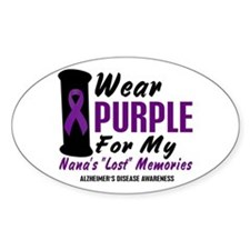 Nana's Lost Memories 2 Oval Decal
