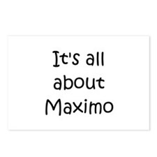 Cute Maximo Postcards (Package of 8)